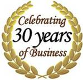 In Business Over 30 Years